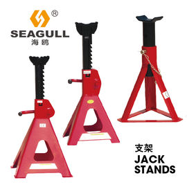 Heavy Duty Truck Jack Stand Mechanical Lifting Jacks 12 Ton Surface Chrome / Painting