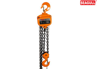 Small Hand Pull Manual Chain Block , 5 Ton Manual Chain Hoist