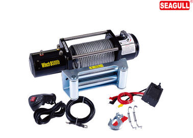 3 Stage Planetary Electric ATV Winch 8500lb For Building With 4.0KW / 5.5HP Motor
