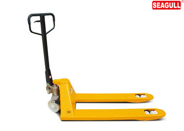 Mobile Hand operated 3 Ton Pallet Truck With High - Strength Alloy Steel Carefully Rafted