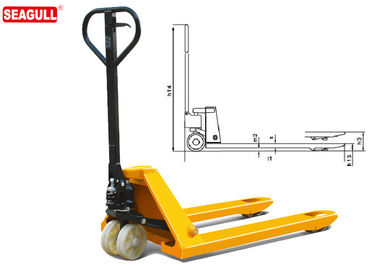 5 ton TUV Hydraulic Hand Pallet Truck For Warehouse Cargo Lifting