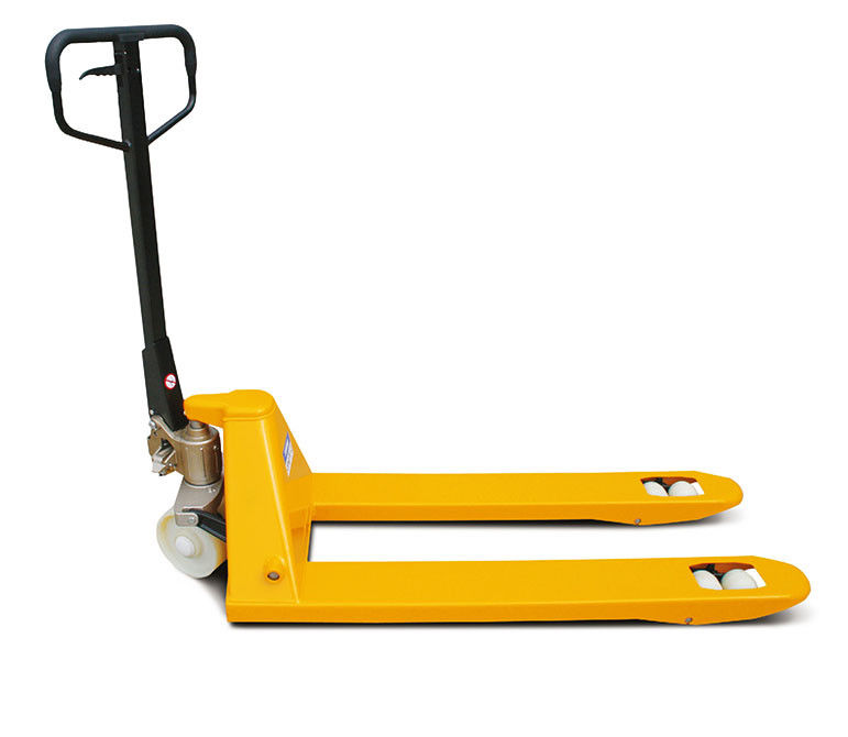Powered Pallet Jack 2500kg Hand Pallet Truck With Fingertip Lever Control