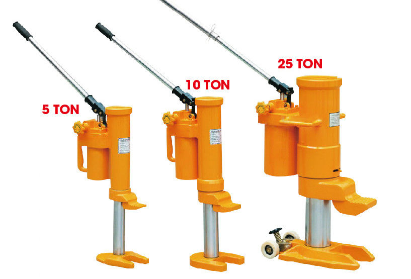 10 Ton High Lift Hydraulic Jack With Protected Against Overloading CE  , Removable Pump Lever