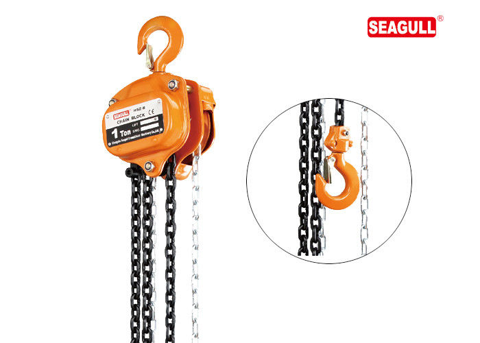 Heavy Lifting Tool 1 Ton Manual Chain Hoist Steel Forged Construction Hoist