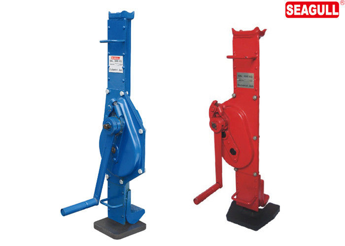 Casting Machinery Low Profile Mechanical Lifting Jacks 1.5 Ton-25 Ton