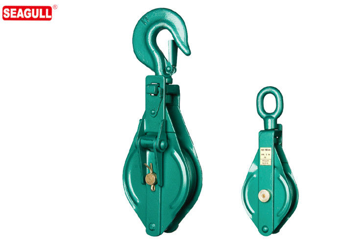 Open Double Sheave Block Pulley For Mine , Capacity 0.5 ton - 10 ton