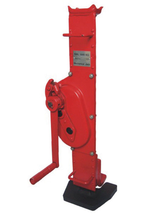 Standard Type 5T Mechanical Lifting Jacks For Automobile Manufacturing